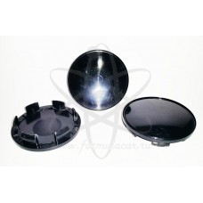 Черная заглушка в центр литого диска D-62мм (55мм) Vicom Rapid K&K (КиК)