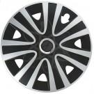 Колесные колпаки ARGO на штампованные диски АРГО Rialto Pro Silver Black СЕРЕБРИСТО-ЧЕРНЫЙ  R16