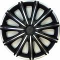 Колпаки колёсные ARGO Неро сильвер черный (Nero) R15