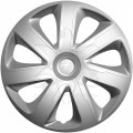 "Колпаки на штампованные диски ARGO Ливорно Livorno Carbon Silver 13"" R13"
