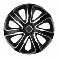 """Колпаки колёсные Argo Ливорно Livorno Carbon Silver Black 13"""" R13"""
