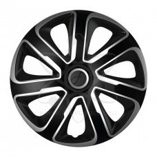 """ARGO колпаки на штампованные диски АРГО Ливорно Livorno Carbon Silver Black 16"""" R16"""