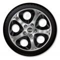 Колпаки колёсные Jacky J-tec Серо-черные ИНФИНИТИ GTS  R15