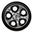 J-tec Колпаки на стальные диски Джаки J-tec Серо-черные ИНФИНИТИ GTS  R15
