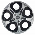 Колпаки колёсные Jacky J-tec Серо-черные ИНФИНИТИ GTS  R16