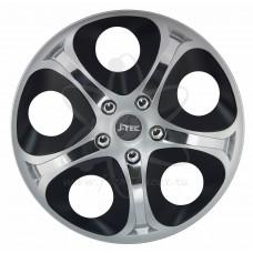 Колпаки колёсные Jacky J-tec Серо-черные ИНФИНИТИ GTS  R14