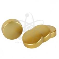 Золотые колпачки на секретки