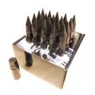 Черные гайки пики пули Starleks высокие KK911944sd/BK(12-1.25)