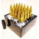 Золотые гайки пики пули Starleks высокие KK911942sd/GD (1/2UNF)