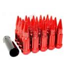 Красные гайки пики Starleks высокие KK911948SD/RD (14-1.5)