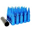 Синие гайки пики Starleks (14-1.5) высокие KK911948SD/BL