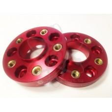 Красные колесные проставки STARLEKS BMW (30мм) 30sp5120FUT-72.5 (72.6)