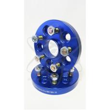Синие колёсные проставки STARLEKS Toyota, Lexus (25мм) 25sp5114-60.1