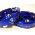 Синие колёсные проставки STARLEKS Mercedes, Audi (35мм) 35sp5112-66.6