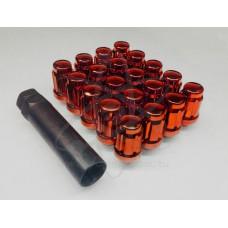 Красные гайки Starleks 12-1.5 (многогранные) kk911145sd/rd