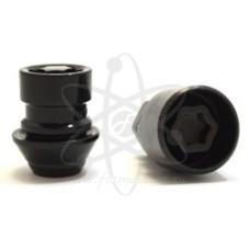 Черные секретки (гайки) Starleks C726445(33L)FordEM/BC-2Key (12x1.5) для Ford, Volvo